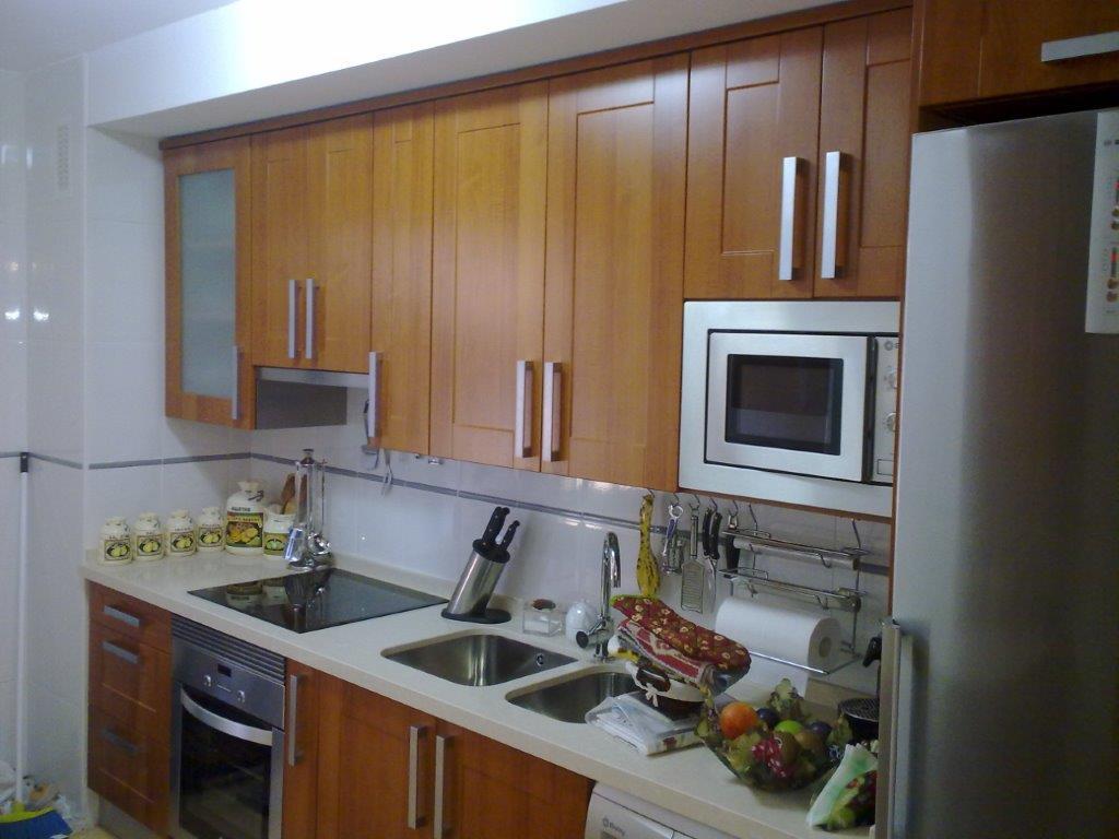 Dise os de cocinas en linea recta casa dise o for Cocinas en linea